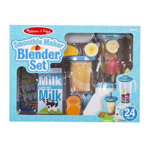 Smoothie Maker Wooden Blender Set