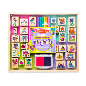 Deluxe Wooden Stamp Set - Fairy Tale