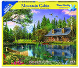 Mountain Cabin 1000pc Puzzle