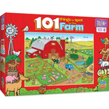 101 Things to Spot on a Farm 101pc Puzzle