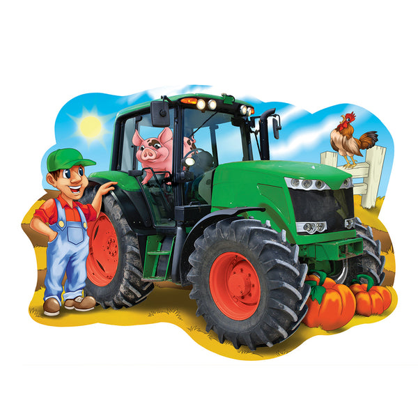 Tractor town giant tractor floor puzzle