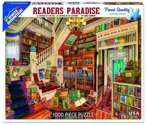 Readers Paradise 1000pc Puzzle