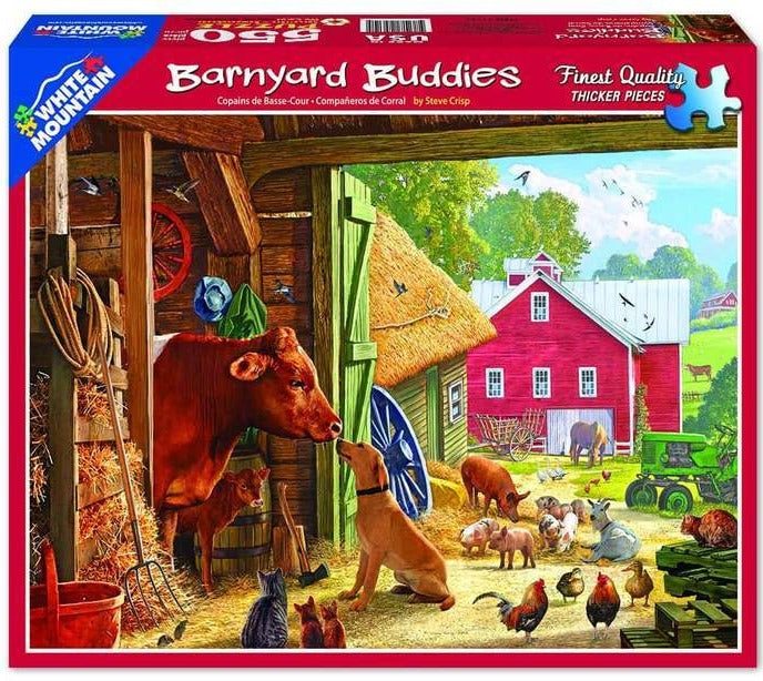 Barnyard Buddies 550pc Puzzles