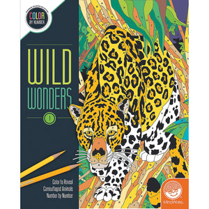 Wild Wonders 1 Color by Number