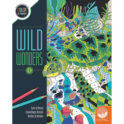 Wild Wonders 3 Color by Number