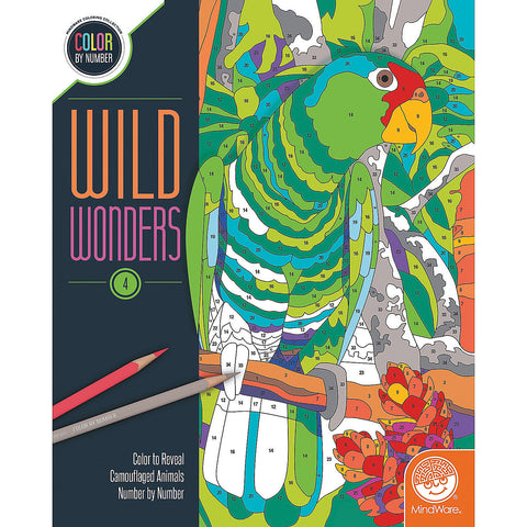 Wild Wonders 4 Color by Number