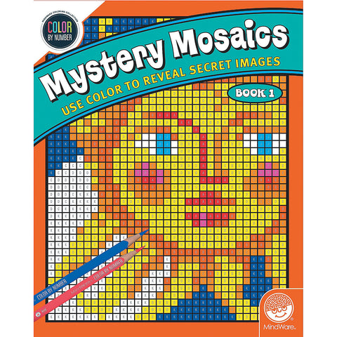 Mystery Mosaics Book 1 - Color By Number