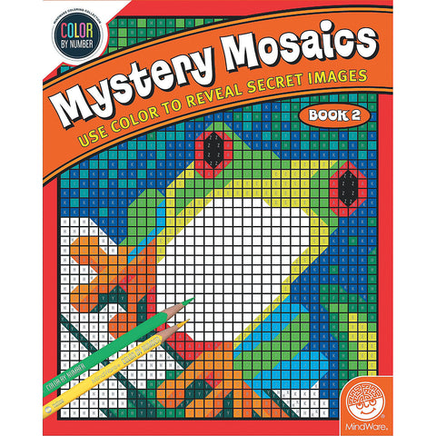 Mystery Mosaics Book 2 - Color By Number