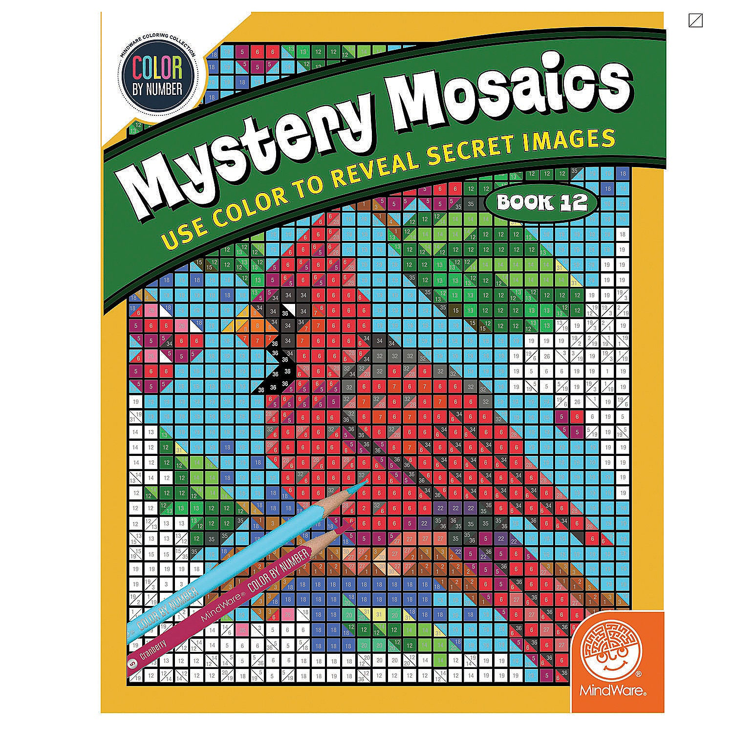 Mystery Mosaics Book 12 - Color By Number