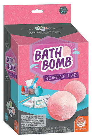 STEMULATORS: Bath Bomb Science Lab