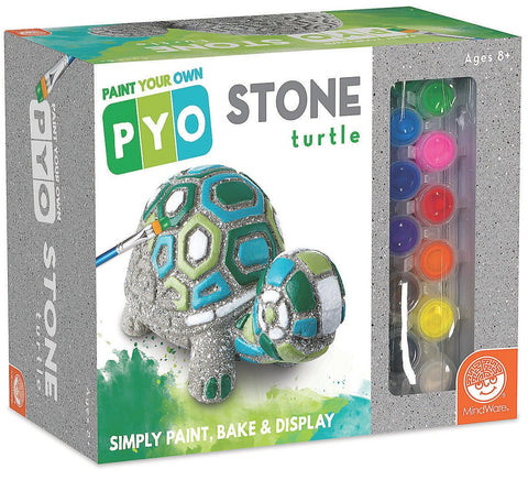 Paint Your Own Mosaic Stone Turtle