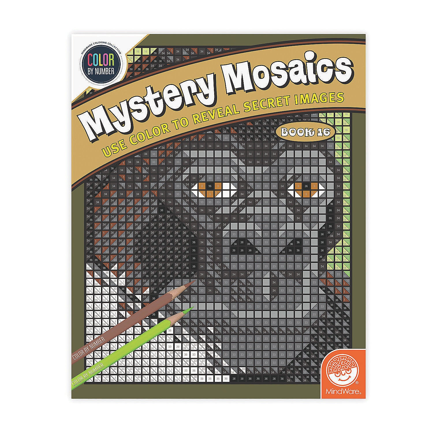 Mystery Mosaics Book 16 - Color by Number