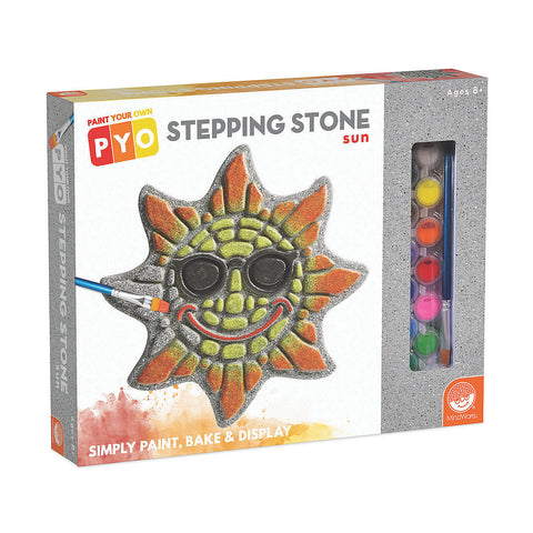 Paint Your Own Stepping Stone Sun