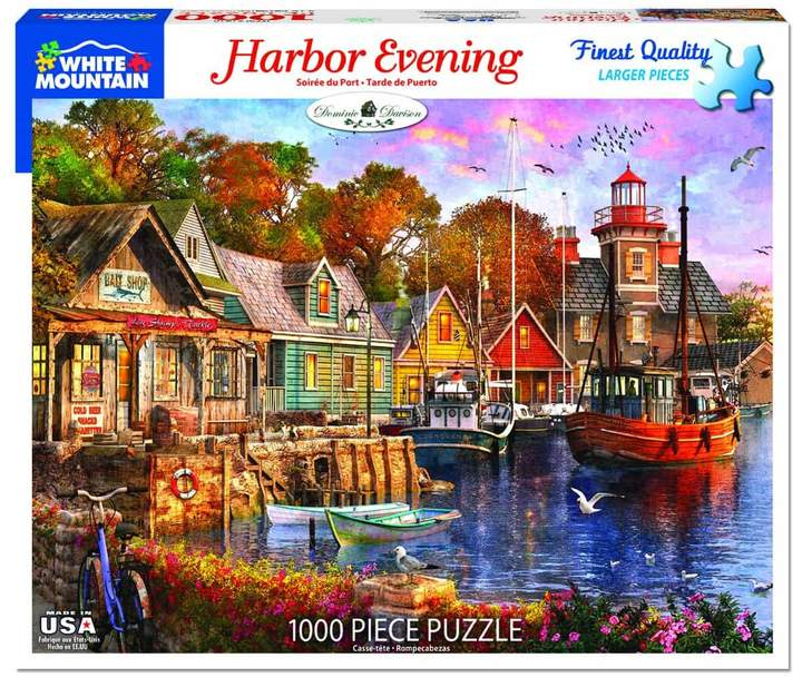 Harbor Evening 1000pc Puzzle