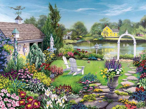 By the Pond 1000pc Puzzle