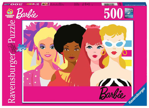 Barbie 60th Anniversary 500pc Puzzle