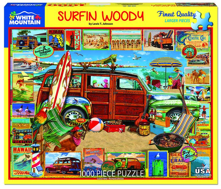 Surfin Woody 1000pc Puzzle