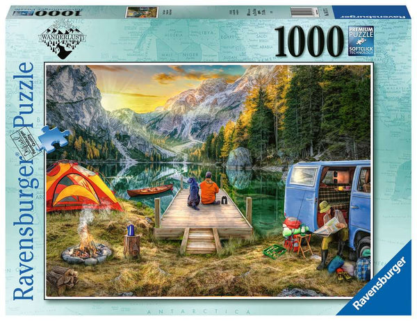 Calm Campsite 1000pc Puzzle