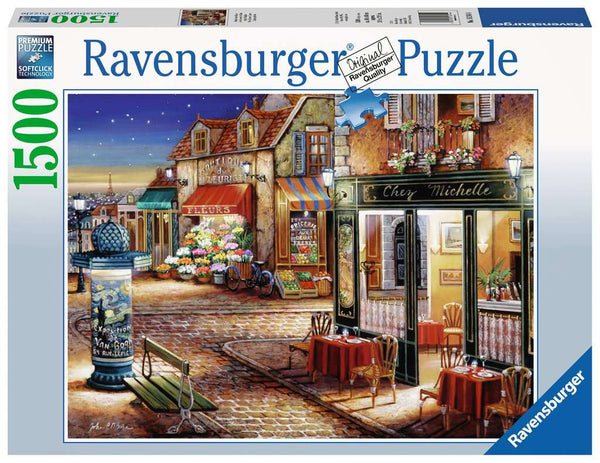 Paris's Secret Corner 1500pc Puzzle