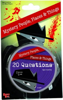 Mystery, Mind, and Logic 20 Questions 1634