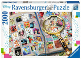 My Favorite Stamps Disney 2000pc Puzzle