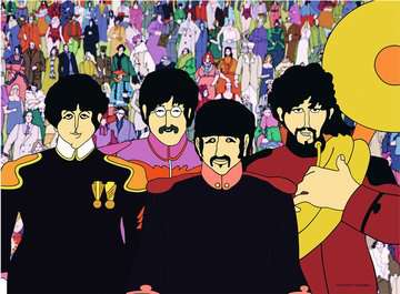 Yellow Submarine Beatles 500pc Puzzle