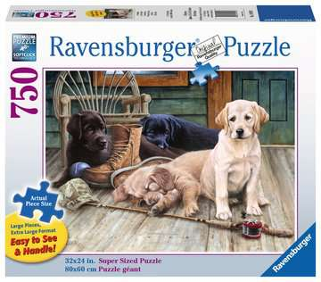 Ruff Day Large Format 750pc Puzzle