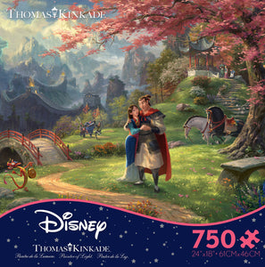 Thomas Kinkade Disney Mulan 750pc Puzzle