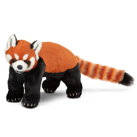 Lifelike Plush Red Panda