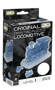 Locomotive 3D Crystal Puzzle