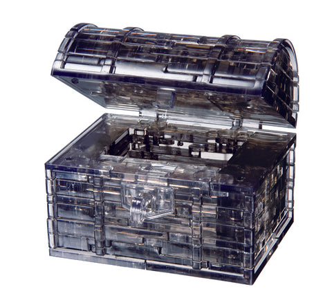 Black Treasure Chest 3D Crystal Puzzle