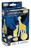 Giraffe and Baby 3D Crystal Puzzle
