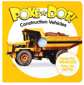 Poke-A-Dot Construction Vehicles Book