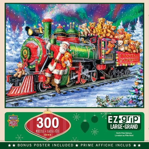 North Pole Deliver 300pc EZ Grip Puzzle