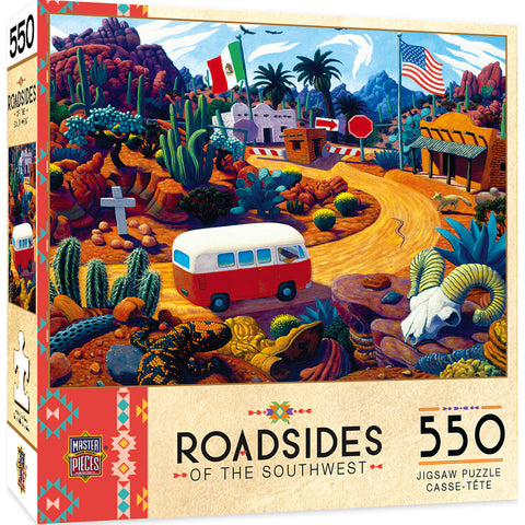 Touring Time 550pc Puzzle