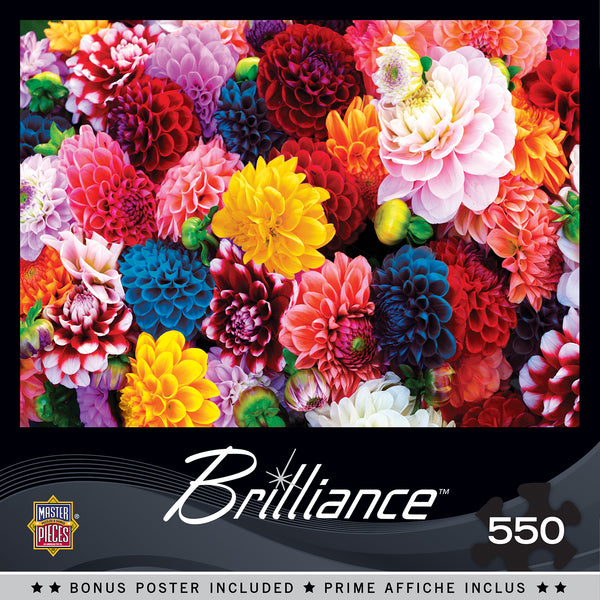 Beautiful Blooms 550pc Puzzle