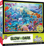 Sea Castle Delight Glow 500pc Puzzle