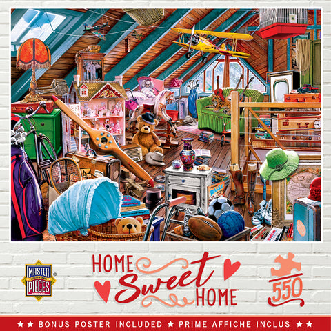 Attic Secrets 550pc Puzzle