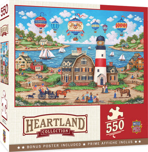 Balloons over the Bay 550pc Puzzle