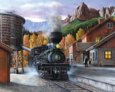 Mountain Express 1000pc Puzzle