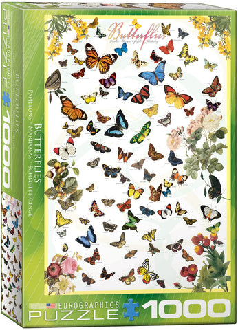 Butterflies 1000pc Puzzle