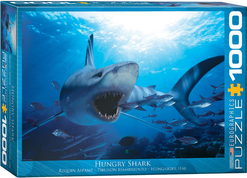 Hungry Shark 1000pc Puzzle