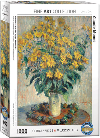 Jeruselam Artichoke Flowers 1000pc Puzzle