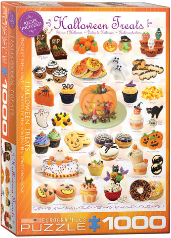 Halloween Treats 1000pc Puzzle