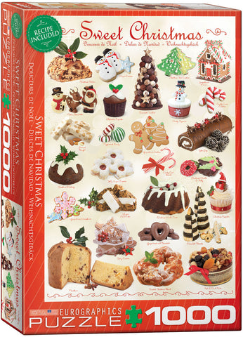 Sweet Christmas 1000pc Puzzle