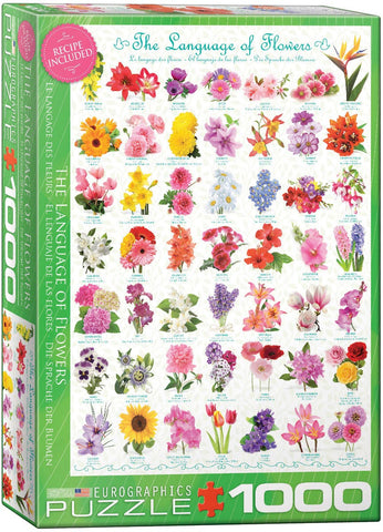 The Language of Flowers 1000pc Puzzle