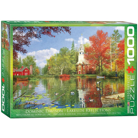 Lakeside Reflections 1000pc Puzzle