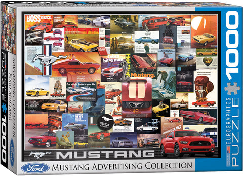 Mustang Advertising Collection 1000pc Puzzle