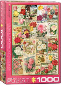 Roses Seed Catalogue Collection 1000pc Puzzle