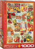 Fruit Seed Catalog Covers 1000pc Puzzle